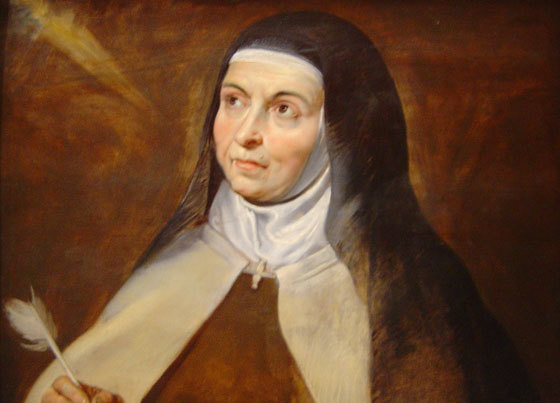 Journeying in Prayer with St. Teresa of Avila by Wayne Simsic