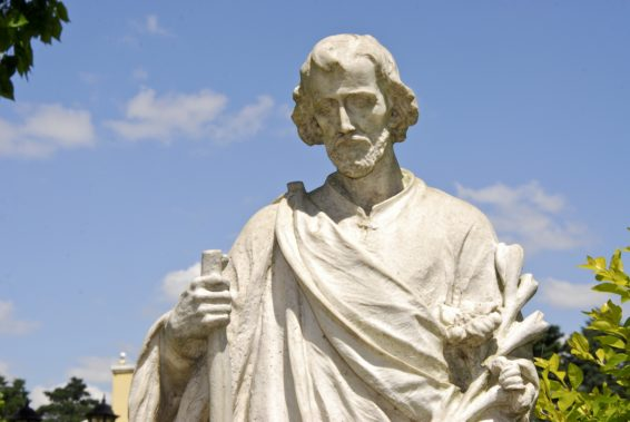 Go to St. Joseph!: He's your father, too.