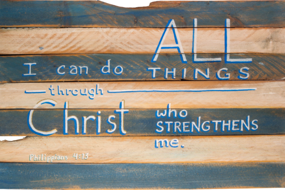 I Can Do All Things in Christ: <em>In Christ, God gives us his divine strength.</em>