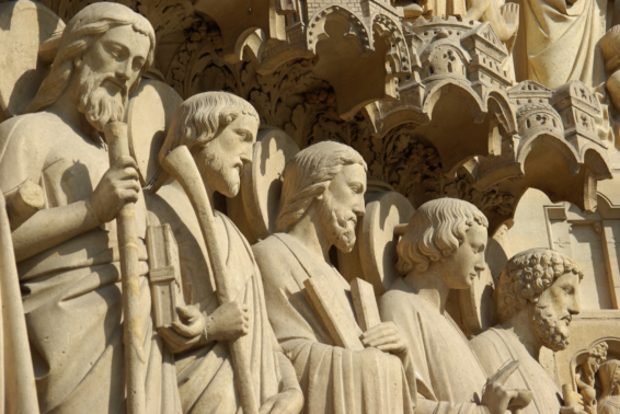 Saints Simon and Jude, Apostles: These saints helped spread the gospel to all the world.