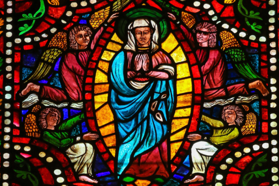 The Assumption of Mary: <em>Authentic faith looks forward to having a glorified body.</em> by Mitch Finley