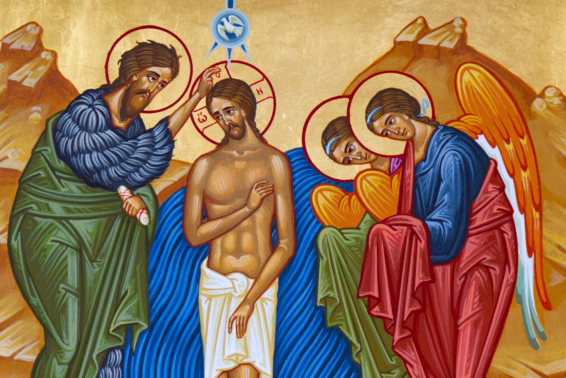 The Baptism of Jesus: A reminder of Jesus' divinity by Mitch Finley