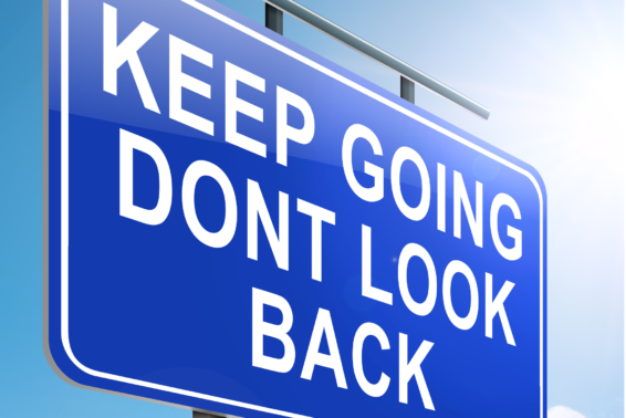 "Don't Look Back!: ""Looking back"" to the fallen ways of the world will cause us to minimize the unique and all-encompassing salvation Jesus gave us on the cross.<br>"