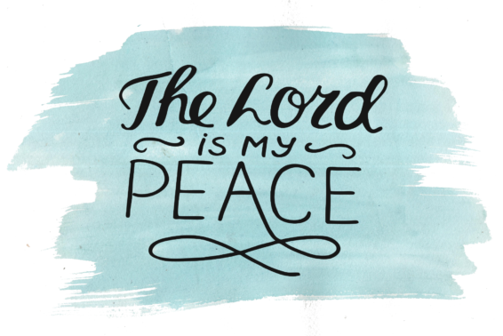 Finding Peace: Ask Jesus to show you daily where to find peace. by Heidi Bratton