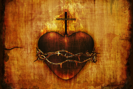 Jesus' Sacred Heart: Help to All in Need: Three Streams Flow Ceaselessly from the Heart of Christ by Ann Bottenhorn