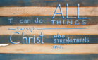 I Can Do All Things in Christ
