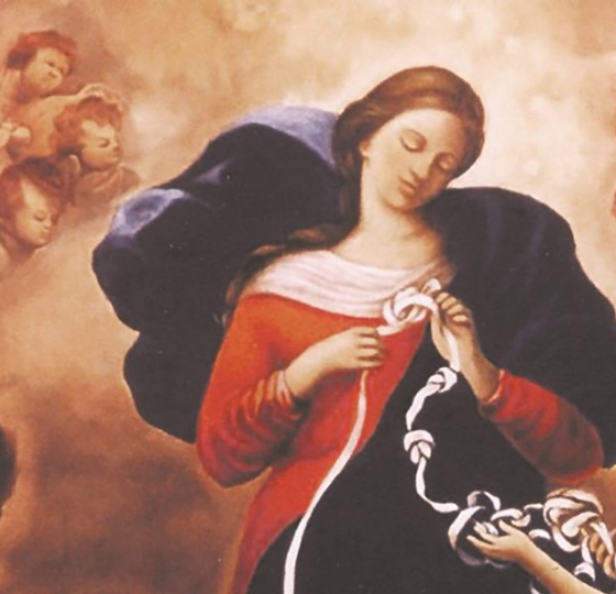 Our Lady Undoer of Knots: Ask Mary to intercede for the knotty problems in your marriage by Woodene Koenig-Bricker