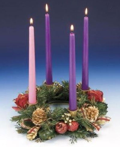 A Simple Way to Pray around the Advent Wreath