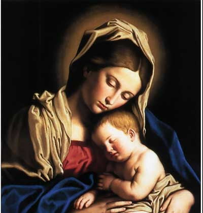 Gaze with Mary on the Face of Christ